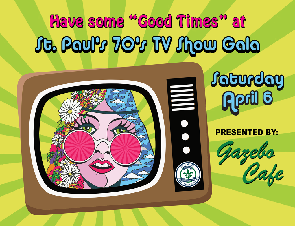 "Have some ""Good Times"" at St. Paul's 70s TV Show Gala April 6, 2019"